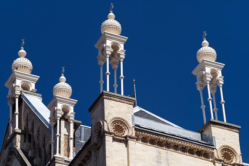 finials Eldredge Street Synagogue