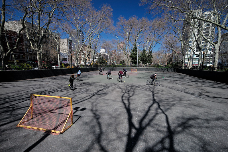 bicycle polo Chystie St Lower East Side