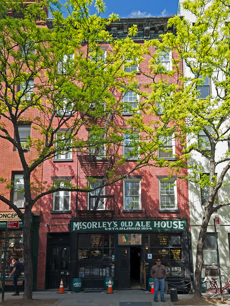 McSorley's Old Ale House 1854