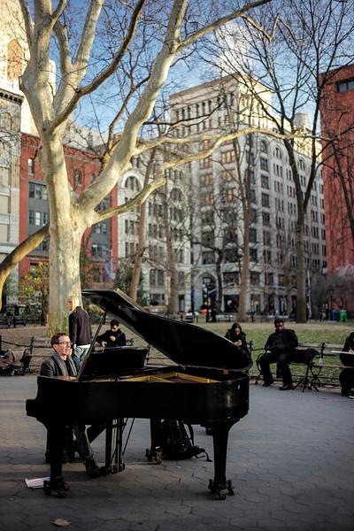 pianist Washington Square