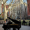 pianist Washington Square