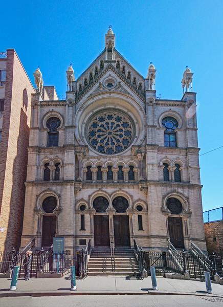 Eldridge Street Synagogue exterior