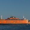 Staten Island Ferry departing Manhattan