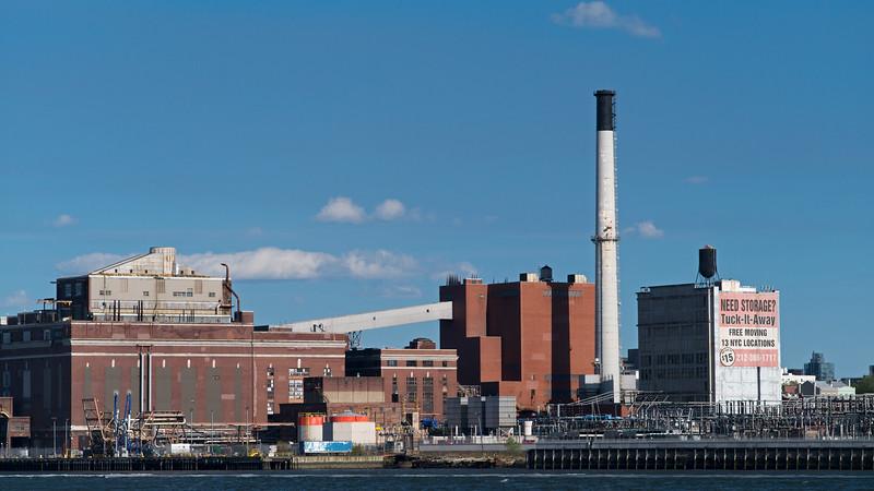 electric plant & storage warehouse