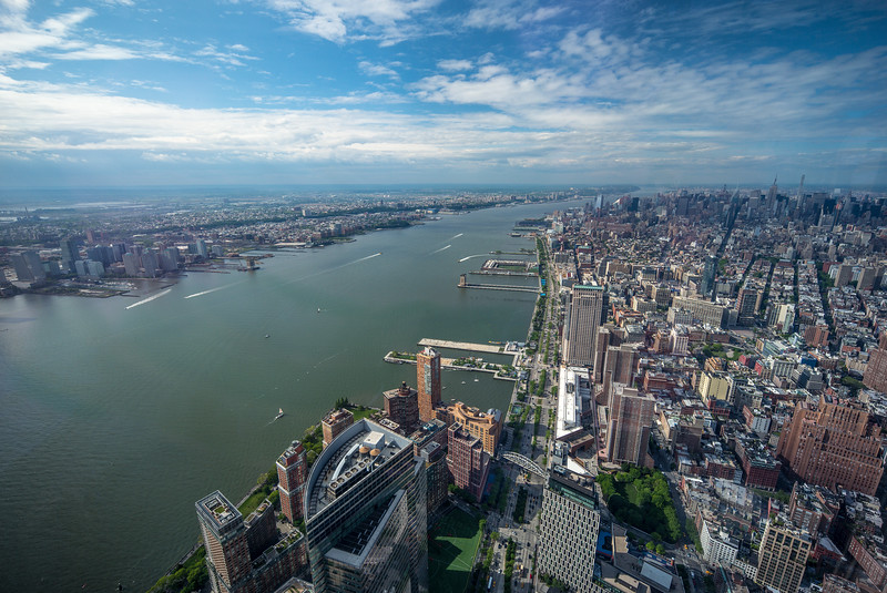 Hudson River from WTC1
