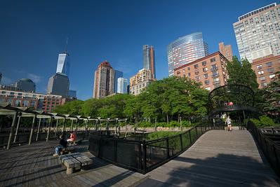 boardwalk Battery Park Esplanade