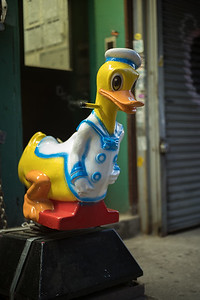 Donald Duck on Grand St Lower East Side