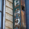 other side of rusty neon bar sign Delancey St