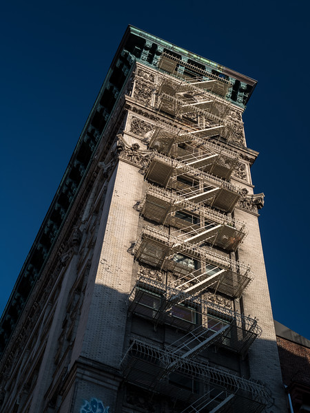 ornamented building Soho