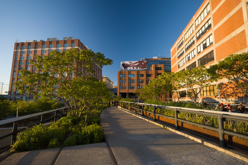 south end of the High Line
