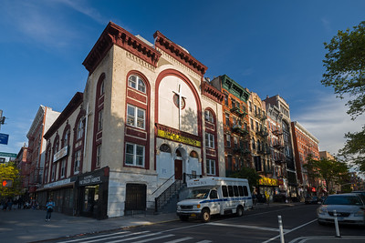 former synagogue Lower East Side now Templo Adventisto del Septimo Dia