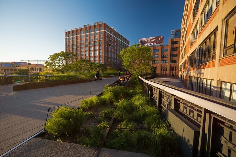High Line beginning