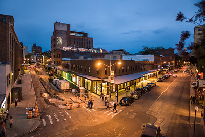 Meatpacking District twilight from High Line