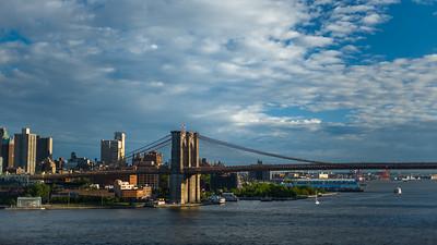 Brooklyn Bridge view from Manhattan Bridge