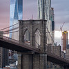1 World Trade Center Brooklyn Bridge & New York by Gehry