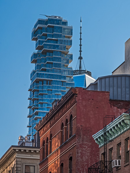 Lower Manhattan rooflines