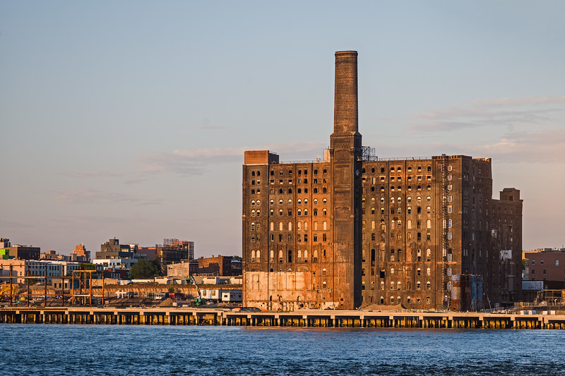 remains of the Domino Sugar Refinery Brooklyn