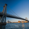 Williamsburg Bridge late afternoon late May