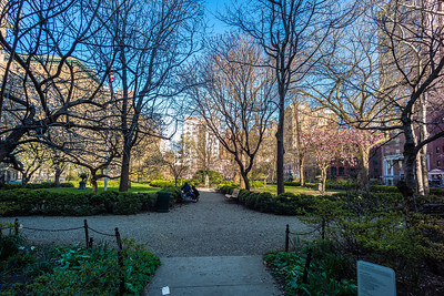 east entrance Gramercy Park