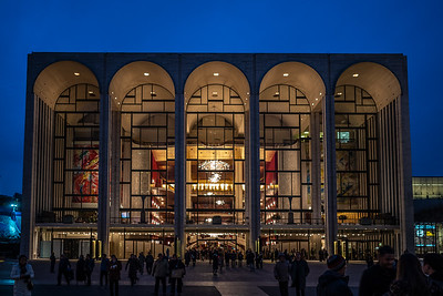 Lincoln Center for the Performing Arts nightfall