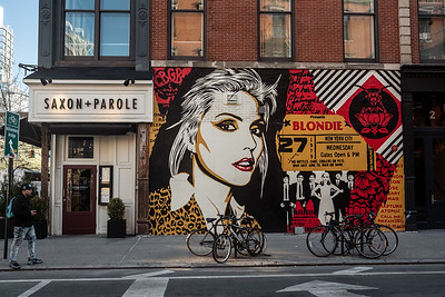Blondie Memorial Greenwich Village
