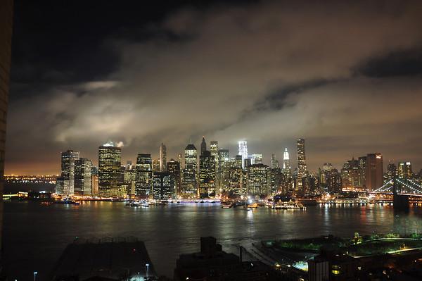 New York nightime Nov 9 2011