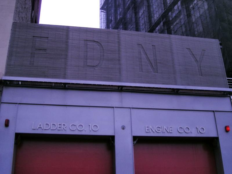 Engine/Ladder 10 quarters - World Trade Center, Manhattan