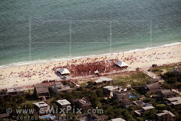 GMHC Beach Party, The Pines, Fire Island, 1993 - img. 1 of 9.