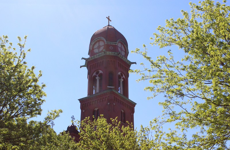 St. Stanislaus Catholic Church Bell Tower