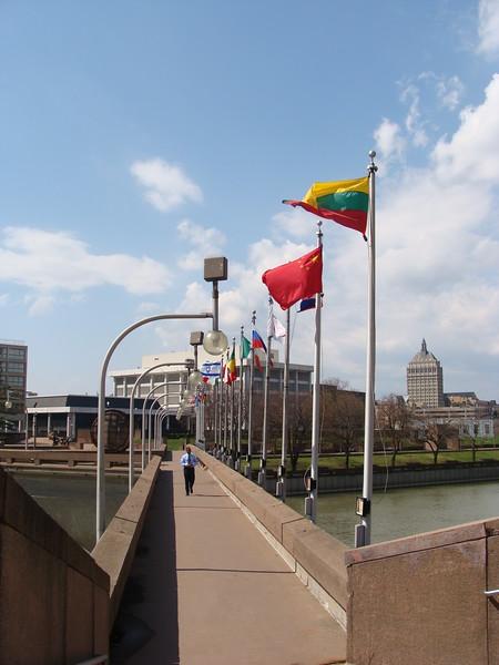 Pedestrian Bridge over the Genesee