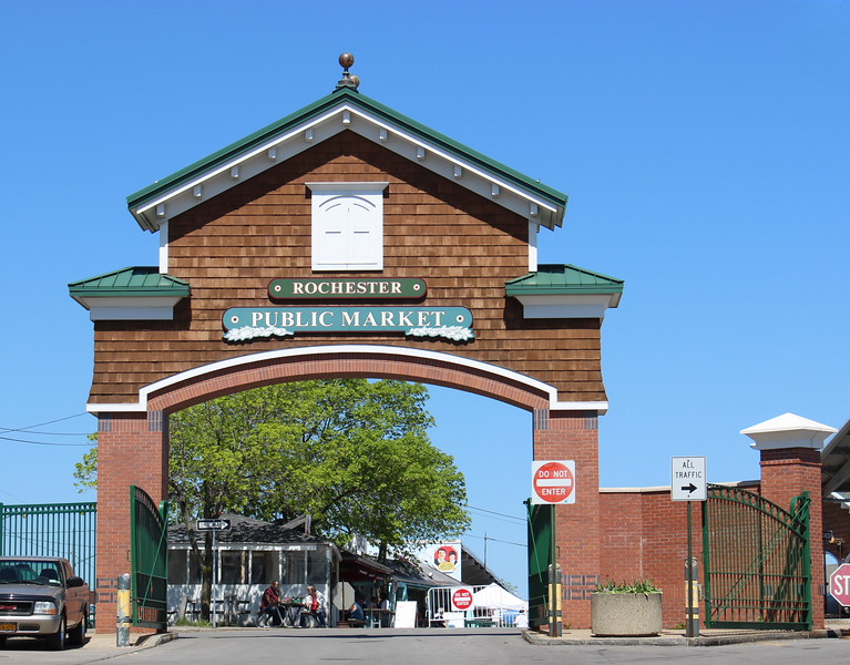 Rochester Public Market Gate