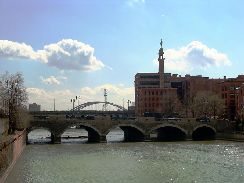 Mercury Overlooks the Genesee River