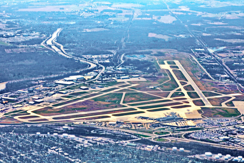 Rochester International Airport and Erie Canal
