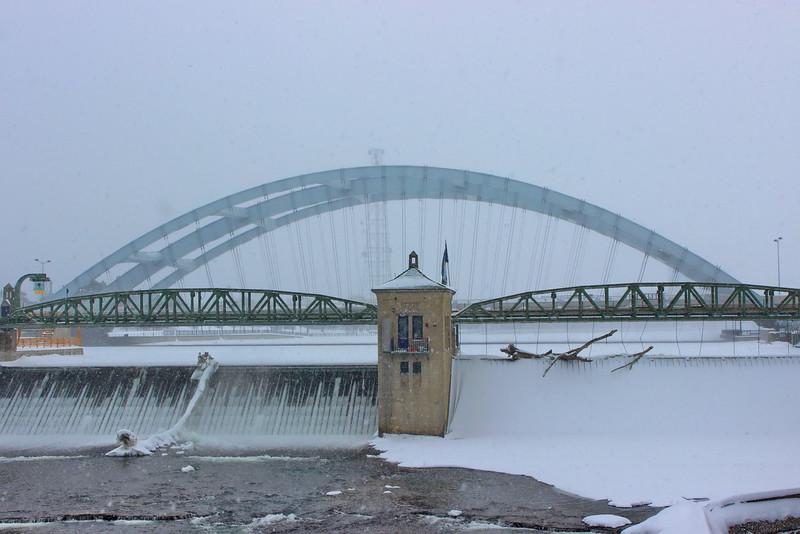 Bridges in Snow