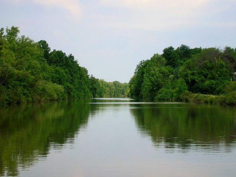 Peaceful Erie Canal