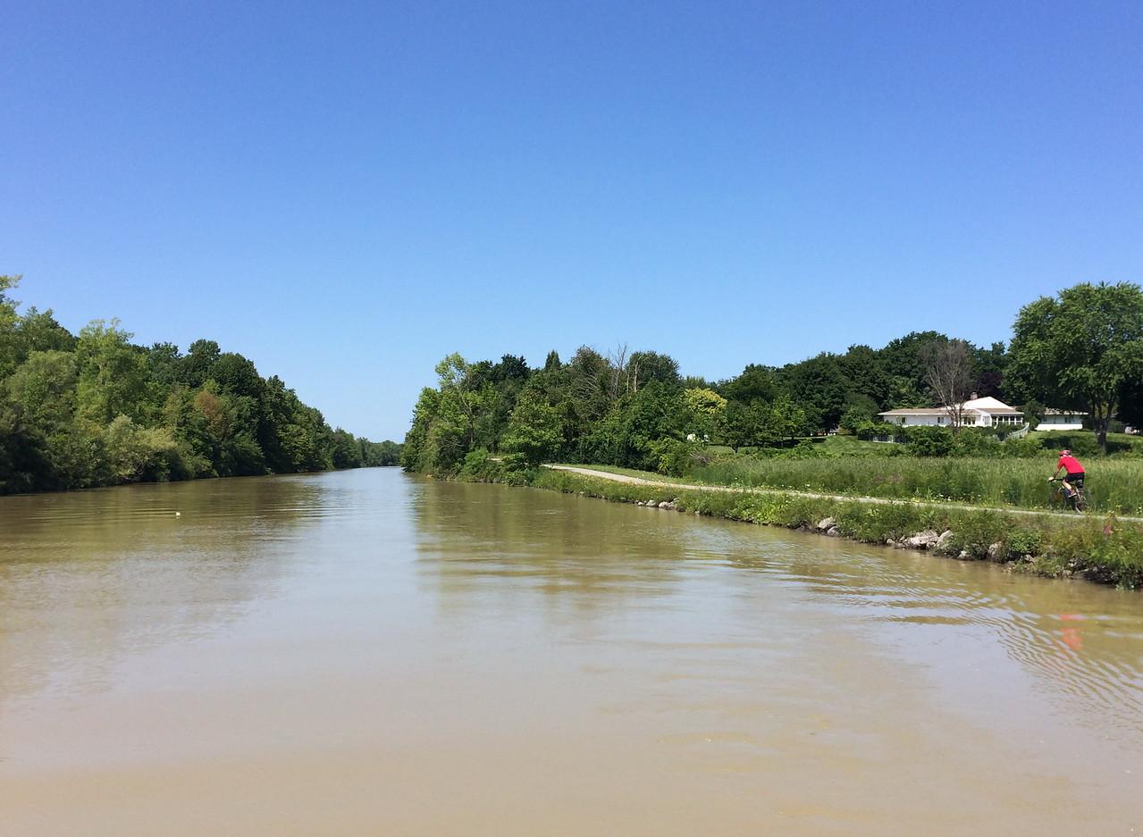 Biking the Erie Canal Trail