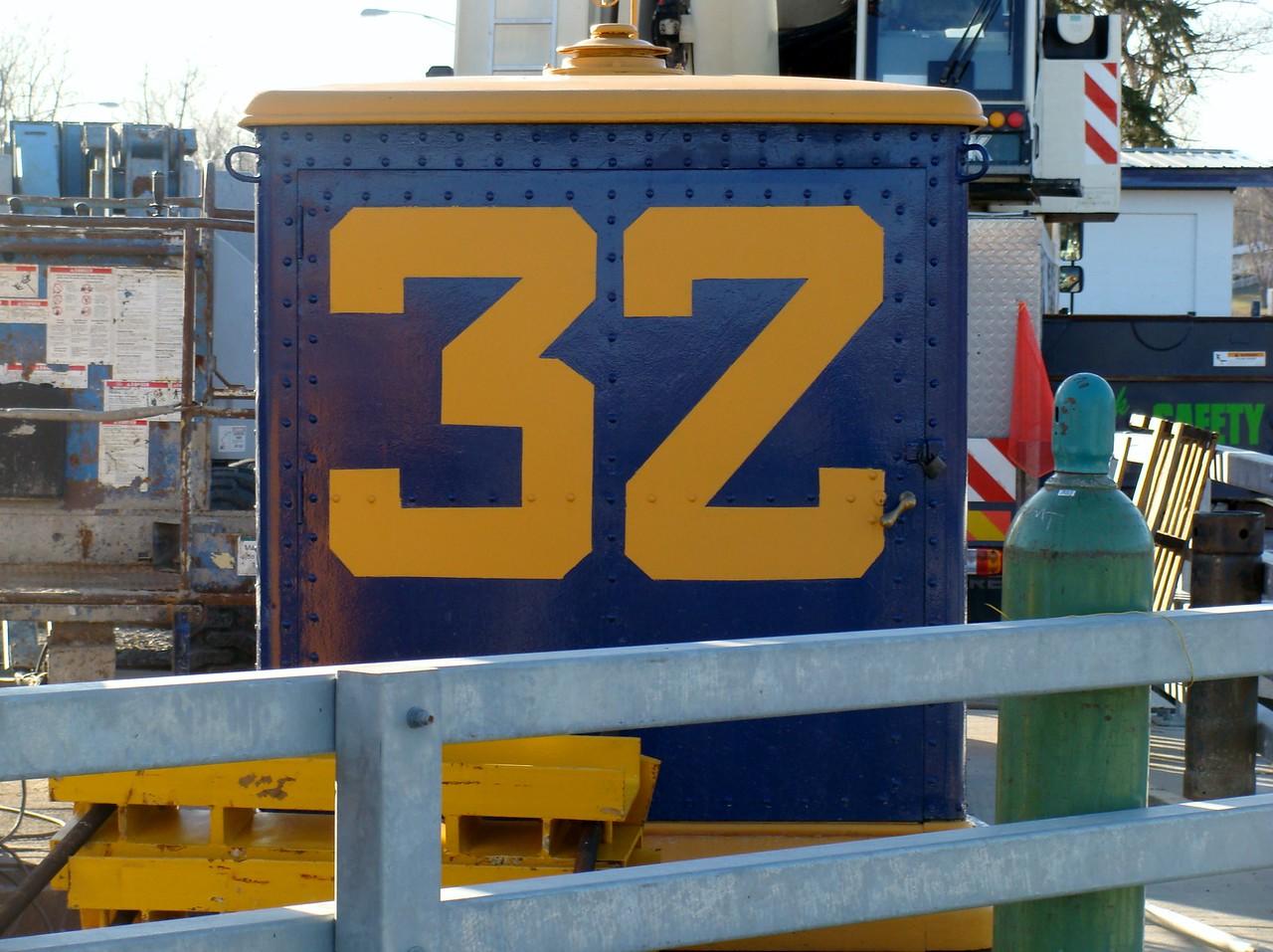 Lock 32 Signage