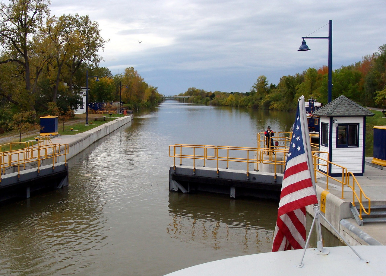 Lock on the Erie Canal