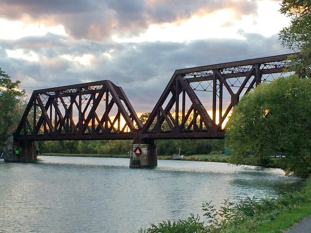 Railroad Bridge over the Erie Canal