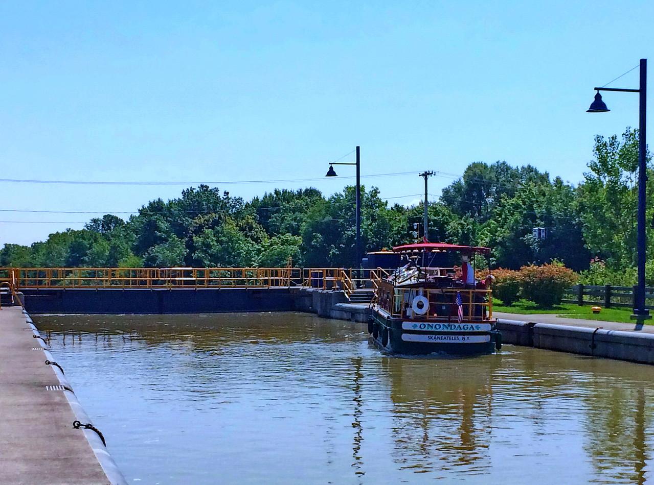 Onondaga Canal Boat