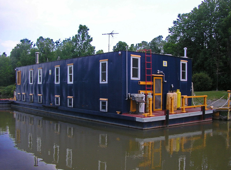 Work Boat on the Erie Canal