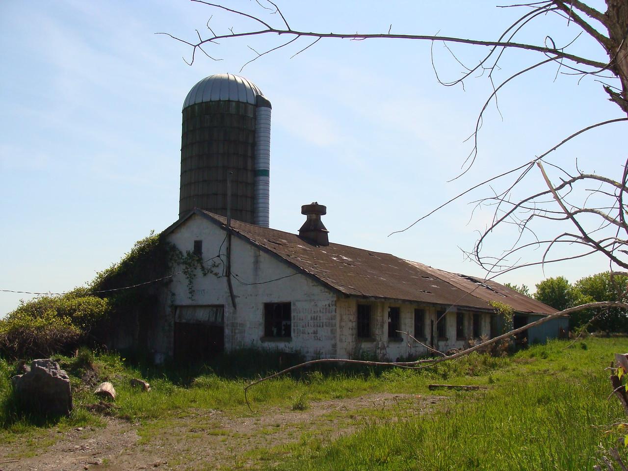 Milking Barn and Silo