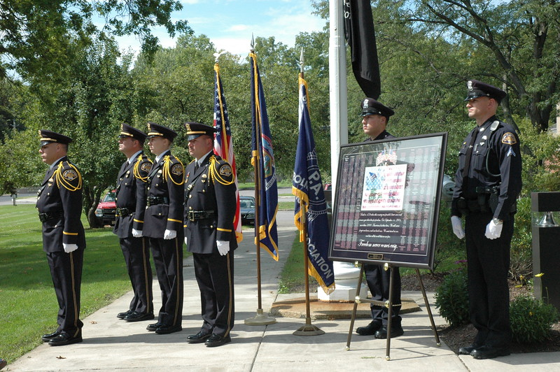 Brighton Police Honor 9/11
