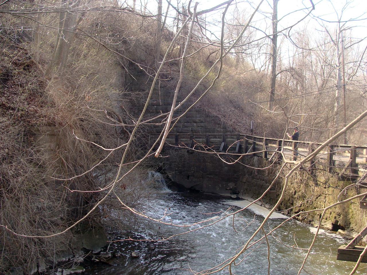 Allyns Creek near the Bridge