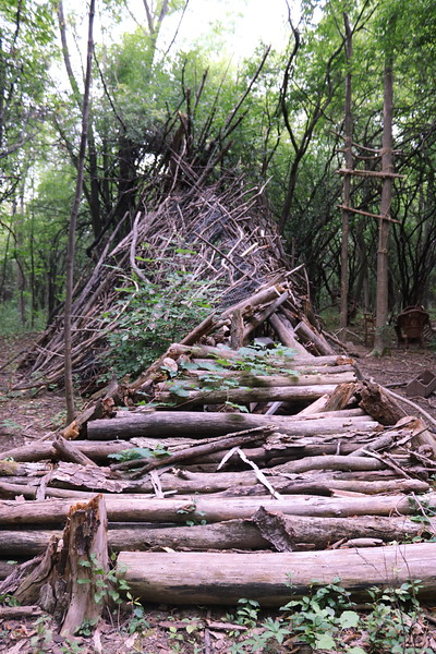 Abandoned Teepee Hunting Shelter