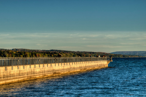 Pier on the Lake in Skaneateles, NY