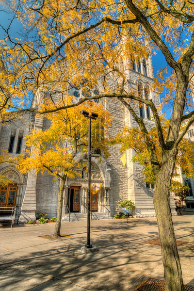 Fall Colors in Downtown Syracuse, NY