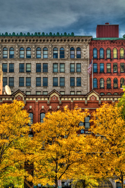 Fall in Downtown Syracuse, NY