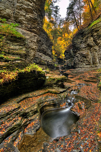Central Cascade at Watkins Glen State Park