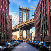 The Manhattan Bridge as seen from DUMBO, Brooklyn